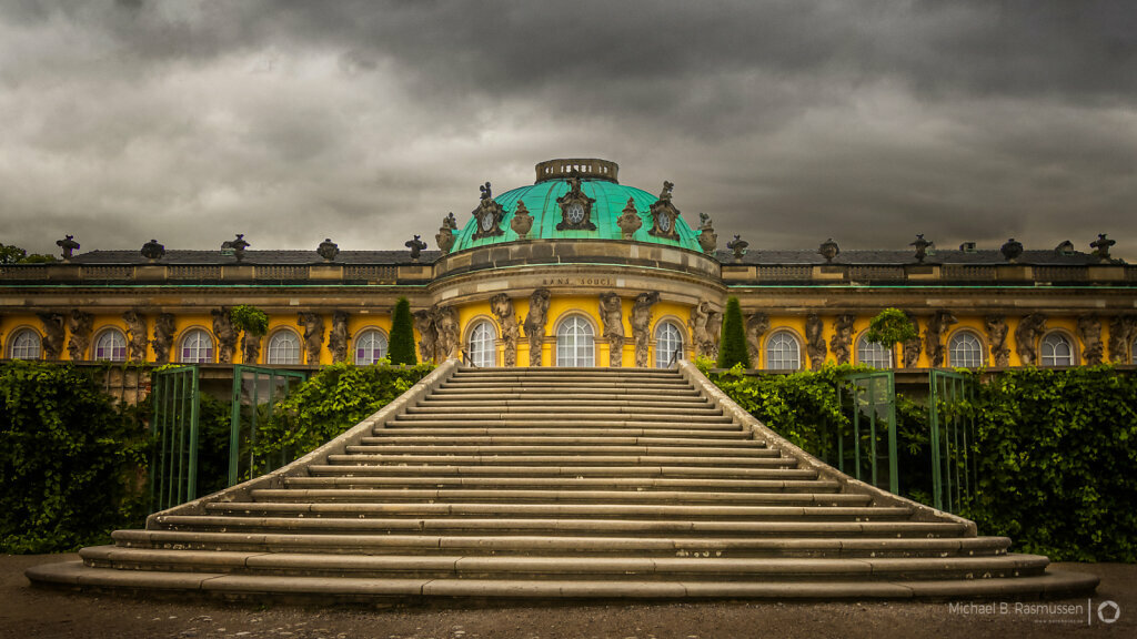 The Sanssouci Palace