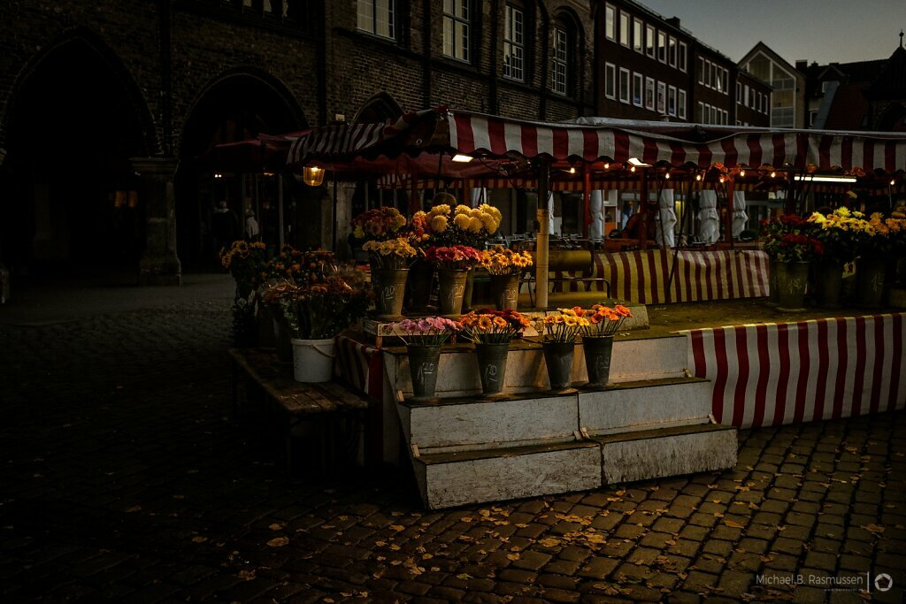 The flower stand