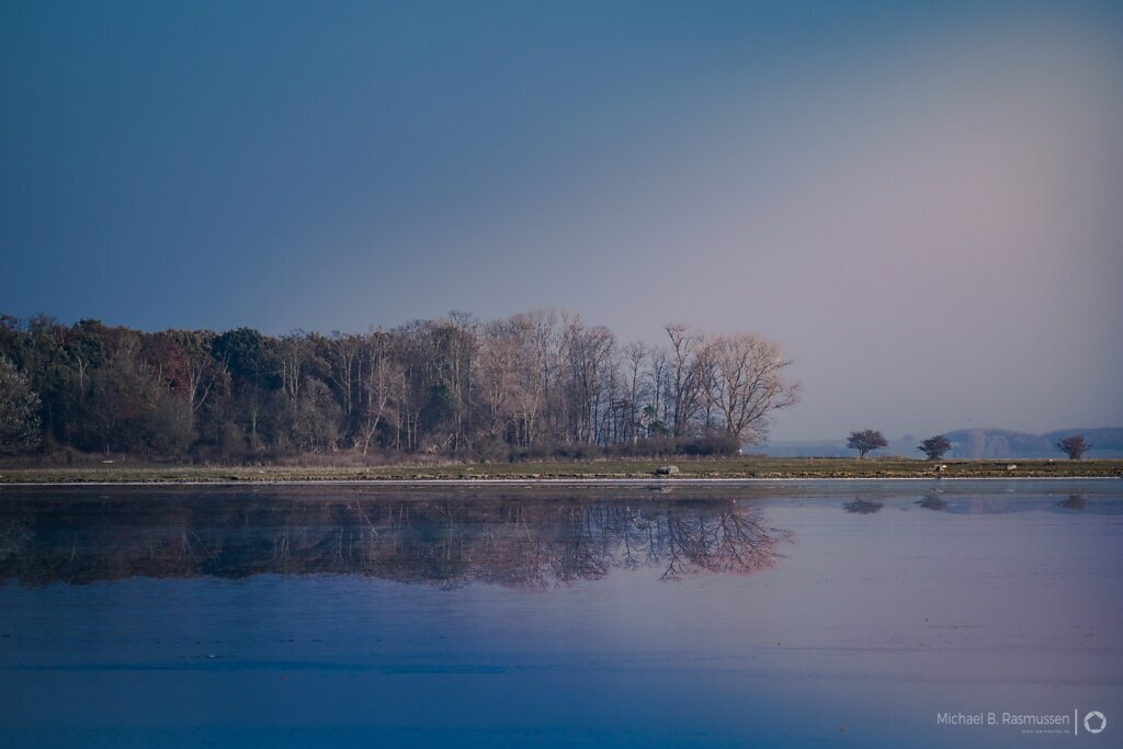 Reflected in ethe fjord