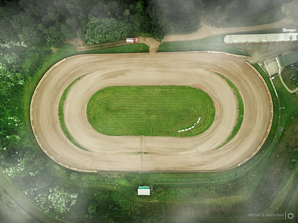 The race track