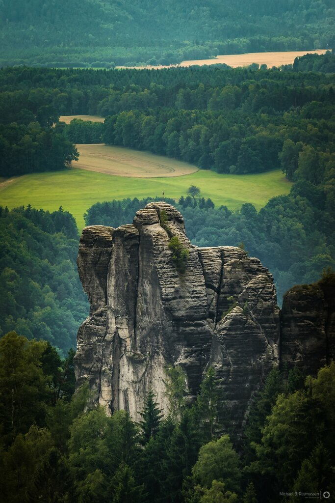 Inside the bastei