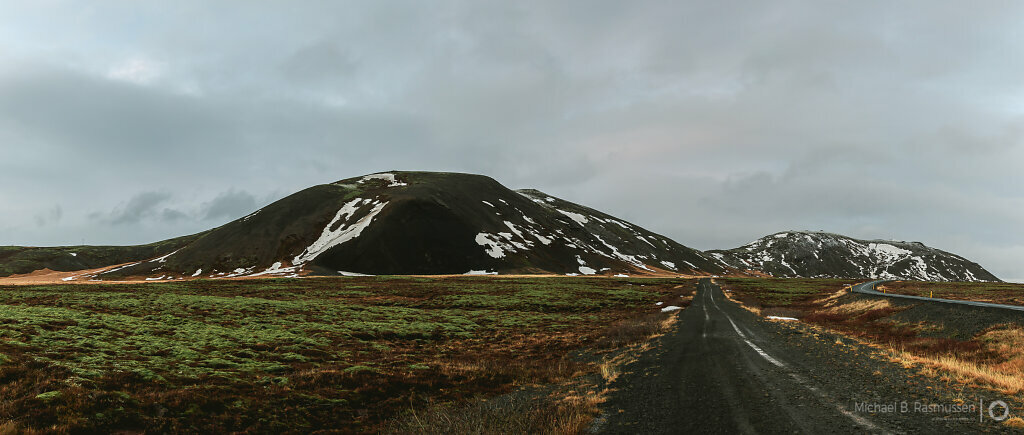 Mountain view Iceland